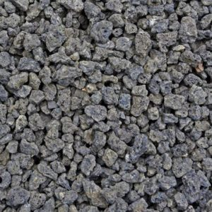Black Lava Rock – 1.5 Inch