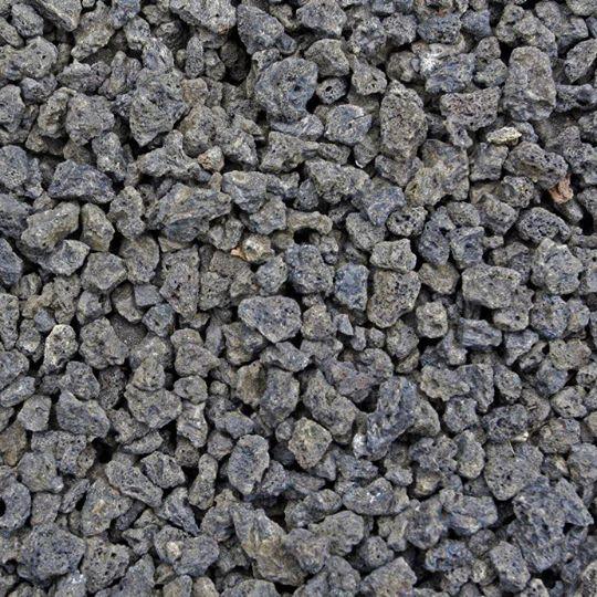 Black Lava Rock – 1.5 Inch